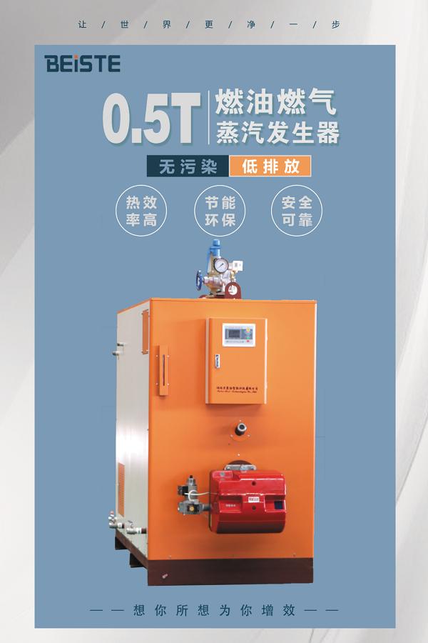 500kg燃气蒸汽发生器